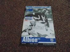 West Bromwich Albion v Derby County, 2000/01 [WC]
